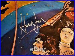 100% Original Star Wars Cast Signed Movie Poster Rare Chaykin Artwork Autograph