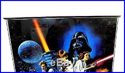 1977 STAR WARS -A New Hope Movie Poster 24x36 PTW531-Framed-EXCELLENT