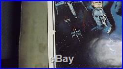 1977 Vintage Star Wars Original Movie Poster PTW-531 LITHO 24 x 36