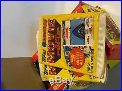1980 Giant Movie Pin Up Posters Full Box Topps Star Wars Frankenstein Jaws Mib