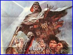 1980 Star Wars Episode V Empire Strikes Back 1SH Movie Poster Style B 27 x 41