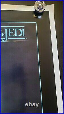 1983 Star Wars Return Of The Jedi Original Movie Poster Rare Nss # Nm