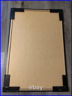 1993 STAR WARS Movie Poster 28.5 X 42 FRAMED Vintage Particle Board Poster Frame
