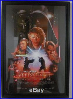 2005 Star Wars Episode III Revenge of the sith Movie poster 27 X 40 2-sides