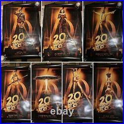 20TH CENTURY FOX 75TH ANNIVERSARY Full 40x27 Poster Set 16 Total RARE Star Wars