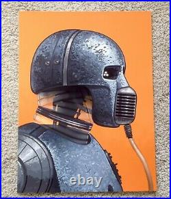 21-B Mike Mitchell Star Wars Portrait Art Print Poster Mondo