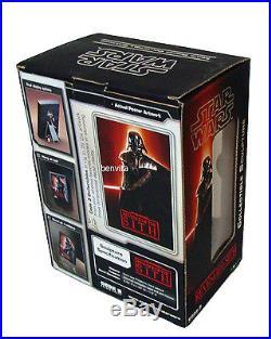 3D Movie Poster Star Wars III Collectible Sculpture Darth Vader Code 3 Neu