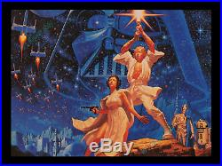 77 Star Wars Hildebrandt Movie Theater Concession Stand Display Poster Sign