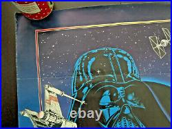 Atari Star Wars 1983 Rare Movie Gaming Poster Original 20x29