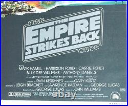 Australian Daybill. Star Wars Empire Strikes Back Original Movie poster