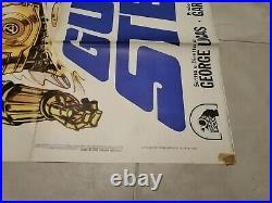 Big Original Movie Poster 2F 100x140 Star Wars Guerre Stellari 1977 G. Lucas
