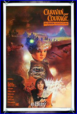 CARAVAN OF COURAGE AN EWOK ADVENTURE CineMasterpieces STAR WARS MOVIE POSTER