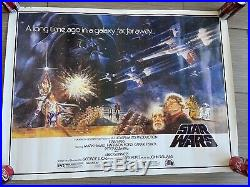 Carrie Fisher signed New Hope Star Wars poster WITH RARE Mrs. Solo INSCRIPTION