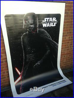Cinema Banner STAR WARS THE RISE OF SKYWALKER 2019 (Kylo Ren) Adam Driver