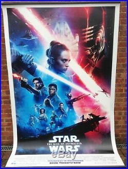 Cinema Banner STAR WARS THE RISE OF SKYWALKER 2019 (Main) Mark Hamill