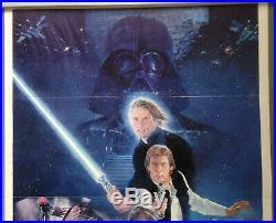 Cinema Poster STAR WARS RETURN OF THE JEDI 1983 (Style B One Sheet 830013)