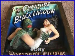 Creature Of Black Lagoon Movie Poster Sculpture Code 3 Rare Universal Monsters