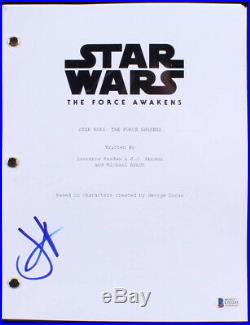 Daisy Ridley Signed Star Wars The Force Awakens 11x17 Movie Poster Print PSA