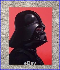 Darth Vader Mike Mitchell Star Wars Portrait Art Print Poster Mondo