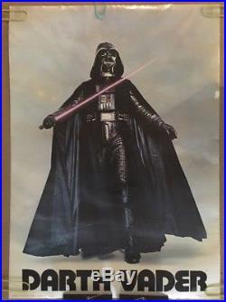Darth Vader Vintage Poster Star Wars Original Movie Pin-up 1977 Movies Starwars