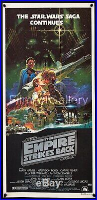 EMPIRE STRIKES BACK 1980 Australian Ohrai poster EXC Star Wars Film/Art Gallery