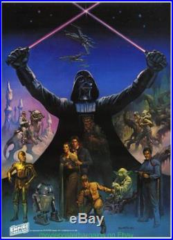EMPIRE STRIKES BACK MOVIE POSTER COCA-COLA Promo STAR WARS Boris Vallejo Art