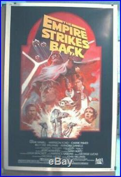 EMPIRE STRIKES BACK R-82 ORIGINAL ROLLED MINT 40x60 MOVIE POSTER STAR WARS 1982