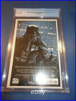 Empire Strikes Back 40th Anniversary Movie Poster Variant CGC 9.8 NM/M Gem Wow