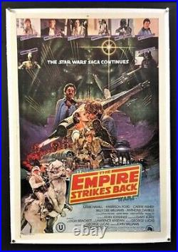 Empire Strikes Back Movie Poster Star Wars Ohrai Artwork Hollywood Posters