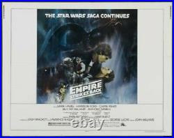 Empire Strikes Back Style A 22x28 Original Nm Rolled Movie Poster Star Wars