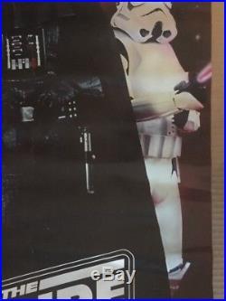 Empire Strikes Back Vintage Poster Star Wars Pin-up Darth Vader Storm trooper