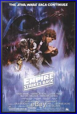 Episode V Empire Star Wars Framed Movie Poster