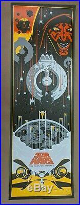 Eric Tan Star Wars Episode 1 The Phantom Menace Disney Art Print Movie Poster