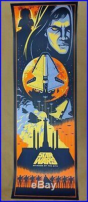 Eric Tan Star Wars Episode 3 Revenge of the Sith Disney Art Print Movie Poster