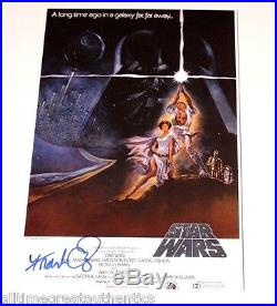 FRANK OZ SIGNED STAR WARS A NEW HOPE MOVIE POSTER PHOTO WithCOA PROOF YODA