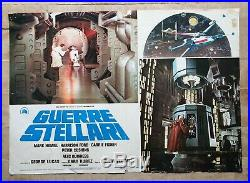 Fotobusta Manifesto Poster Affiche Guerre Stellari Star Wars Ford Fantascienza G
