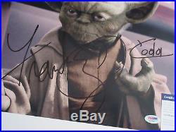 Frank Oz Signed 11x14 Photo Psa/dna Aa19085 Star Wars Yoda Rare