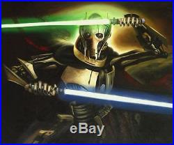 General Grievous, Star Wars Original Hand Painted Movie Poster Oil Painting XL