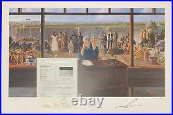 George Lucas Signed 24x36 Poster Photo Litho Star Wars Raiders Lost Ark Auto JSA