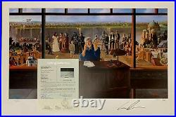 George Lucas Signed 24x36 Poster Photo Lithograph Star Wars Indian Jones JSA