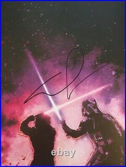 George Lucas Signed Autograph Star Wars Revenge Jedi Full Size Poster Beckett