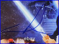 George Lucas Star Wars Return of the Jedi Signed 10.75x17 Photo PSA/DNA #Y90604