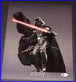 HAYDEN CHRISTENSEN SIGNED AUTOGRAPH STAR WARS 11x14 NEW POSTER PHOTO BECKETT C