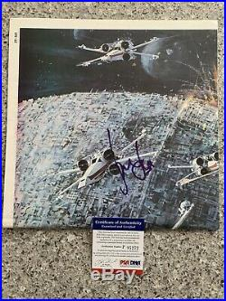 Harrison Ford Signed PSA DNA Poster Autographed COA Star Wars Han Solo