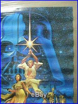 Hildebrandt Star Wars Movie Character Vintage Poster Garage 1977 Cng828