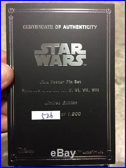 In Hand Star Wars Celebration Exclusive Chicago Movie Poster Box Set Pin #1200