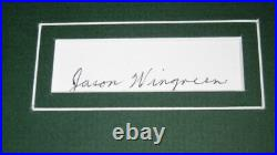 Jason Wingreen Signed Framed 16x20 Photo Poster Display Star Wars Boba Fett