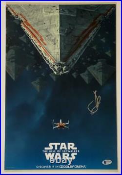 Jj Abrams Star Wars Rise Of Skywalker Signed 12x18 Photo Poster Autograph Bas B