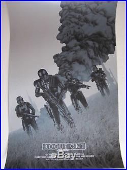 John Guydo Rogue One Star Wars Movie Poster Print Commission Mondo Style Art