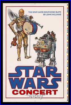 John Williams Star Wars Concert Movie Poster Holy Grail Of Printer's Proofs